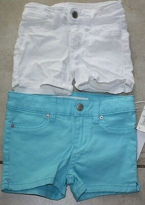 2 Pair JOE'S Jeans Shorts NWT Blue and White Size 4