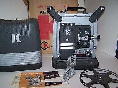 Vintage Keystone K-902 8 MM Movie projector with Manual and Original box