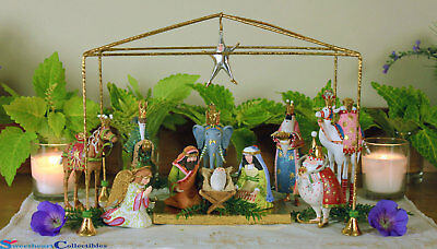 Patience Brewster  Mini Nativity Set of 13
