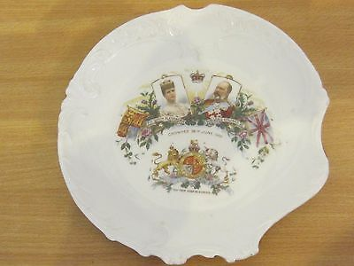King Edward Vii & Queen Alexandra 1902 Coronation  Plate