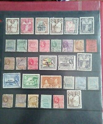 Stamps Used Mm British Guiana