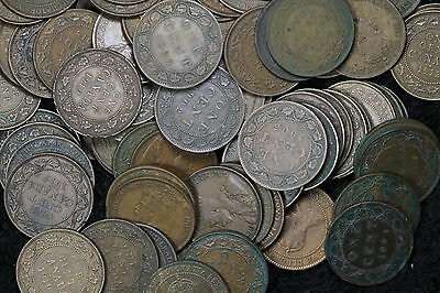 Lot of 91 Canada Large Cents King Edward - Nice Condition