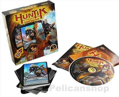 Huntik Trading Card Game Starter Deck + Bonus Dvd [New & Sealed]