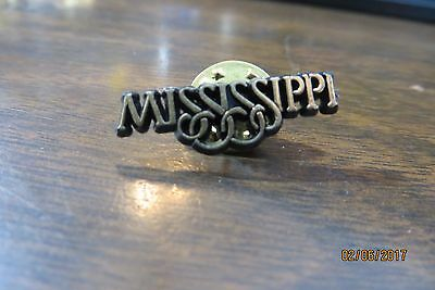 state of MISSISSIPPI collectibe souvenir  pin