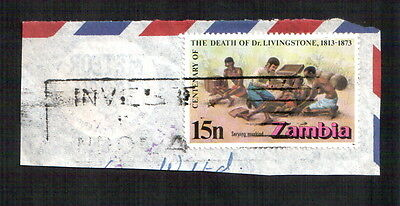 POSTAGE STAMP : ZAMBIA : CENTENARY OF THE DEATH OF Dr. LIVINGSTONE, 1813 -1873