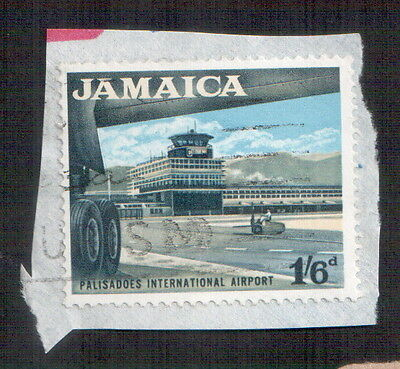 POSTAGE STAMP : Jamaica : Palisadoes International Airport - 1/6d