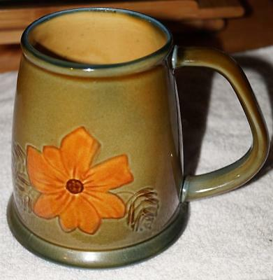 "Wade Irish Porcelain Pottery Beer MUG 4.75"" bottom diameter Mint Condition"
