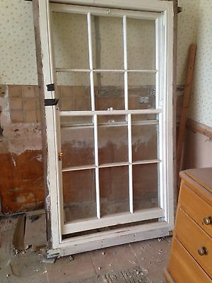 Reclaimed Complete Victorian Box Sash Window