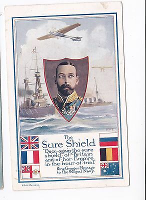 1917 The Royal Navy - The Sure Shield of Britain and Empire (Super Card)