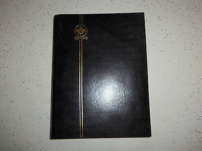 """SET OF 3 STAMP ALBUMS UNI-SAFE G4/32 9 x 12"""" 9 strips 64 pages  Double"""