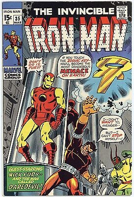 Iron Man #35  F/VF