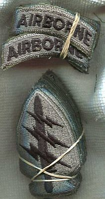 Dealer lot of 20 US Army Special Forces ACU Patches W/Airborne Tabs