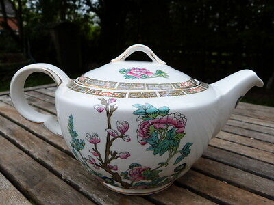 Stunning Antique Vintage Ornate Ceramic Teapot By John Maddock & Sons.