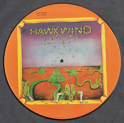 HAWKWIND - DEBUT 1st LP - RARE PICTURE DISC UK LIBERTY - PSYCH SPACE PROG ROCK