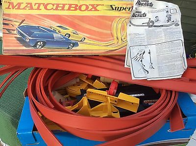 Matchbox Superfast Corgi Rockets Large Quantity Of Track And Accessories Job Lot