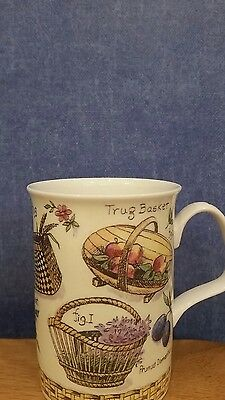 Fine Bone China Yesteryear(Gardening)  Mug by Roy Kirkham.