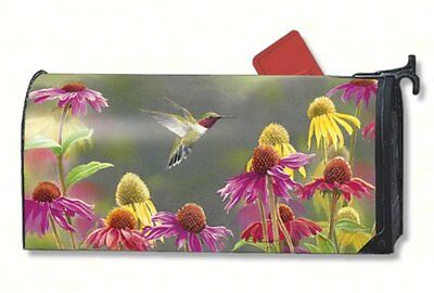 Magnet Works Hummingbird Heaven Magnetic Mailbox Wrap Cover