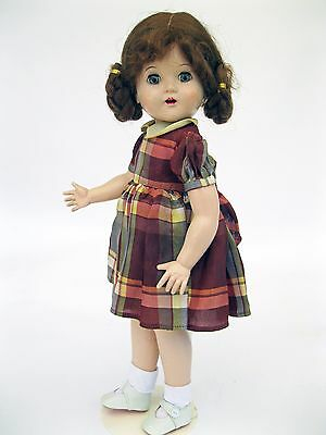 Vintage Horsman Walker Cindy Doll 1950-1955 Original Adorable Dress  17 Inches