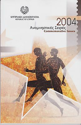 Cyprus - Booklet Containing All Commemorative Issues From 2004 - Unmounted Mint.