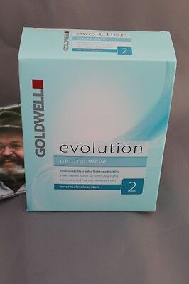 (15,79€/1Stk) Evolution neutral Wave 2 coleriertes und gesträhntes Haar Goldwell