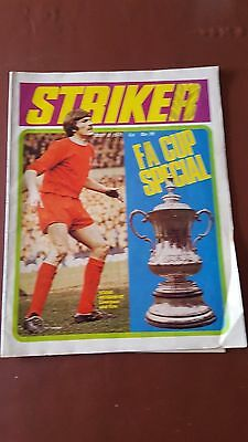 Striker Football Magazine May 1971 FA Cup Final Special Arsenal V Liverpool
