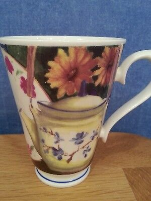 Fine Bone China Tea for Two (Floral)  Mug by Roy Kirkham