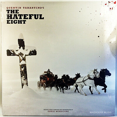 The Hateful Eight LP x 2 SOUNDTRACK Ennio Morricine - Third Man USA Jack White