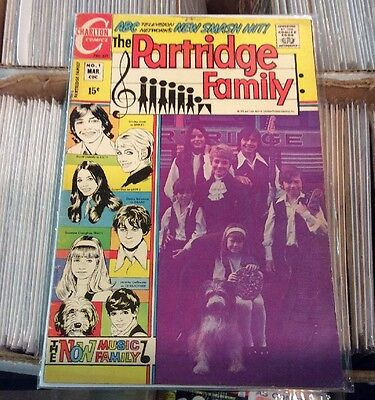 1971 The Partridge Family #1 Charlton Bronze Age Nice LOOK