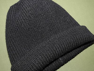 US Navy Post-WW2 1950s SAILOR KNIT WOOL WATCH CAP Vtg USN Beanie Hat RARE