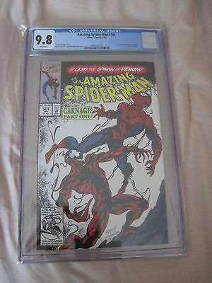 Amazing Spider-Man #361 CGC GRADED 9.8 1st full appearance of Carnage