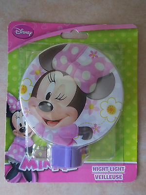 Disneys Minnie Mouse Night Light * Nite Lite * Mickey * Donald Duck * Disney