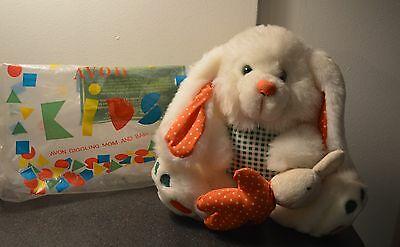 Avon Giggling Mom And Baby Bunny * White * New * 8 Inch * So Cute *