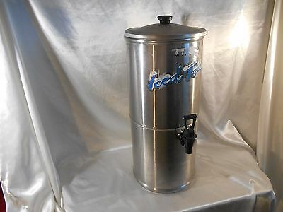 Curtis Streamliner Stainless Steel Commercial Iced Tea Dispenser 3.5 Gal. GUC