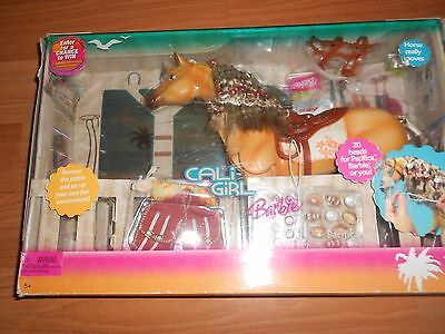 Brand New Barbie  Cali Girl Pacifica  Horse Set
