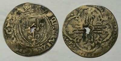 * INTRIGUING !! * 300 Year Old Colonial Token
