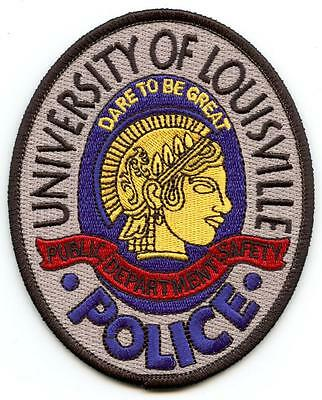 """University of Louisville KY 4.25"""" Patch Police Law Enforcement Officer Right"""