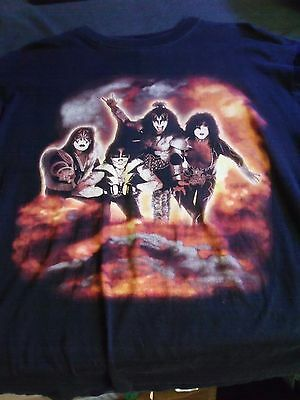 KISS Psycho Circus Live in 3D Concert Tour Shirt Criss Simmons Ace FREE SHIPPING