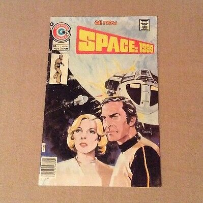 1975 Space:1999 #1 Charlton Bronze Age Nice LOOK