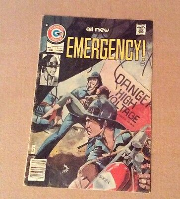 1976 Emergency #1 Charlton Bronze Age Nice LOOK