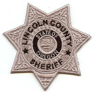 "Lincoln County Oregon 3"" Patch Sheriff Department Law Enforcement Officer LEO"