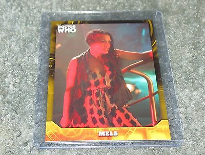 2017 Topps Doctor Who Signature Series Base Card 59 Yellow  Parallel 24 / 25