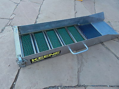 "KEENE SLUICE BOX 36"" x 10"" GOLD PROSPECTING MINING EQUIPMENT DREDGE HIGHBANKER"
