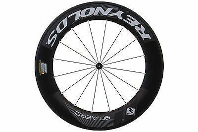 Reynolds 90 Aero Road Bike Front Wheel 700c Carbon Clincher