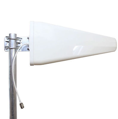 800-2500MHz 11DBi Wide Band Directional Antenna 2/3/4G Wifi/WLAN Signal Boosters