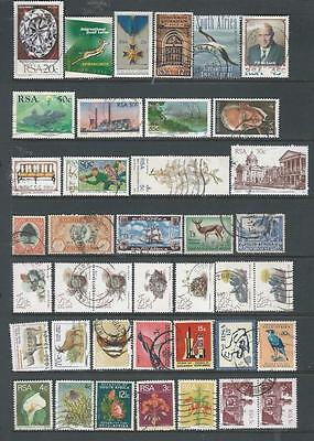South Africa lot 1 selection of stamps, good range (652] REDUCED