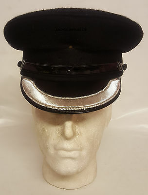 Ex Police Peaked Cap Superintendent Size 58 Officer's Peaked Cap (A399)
