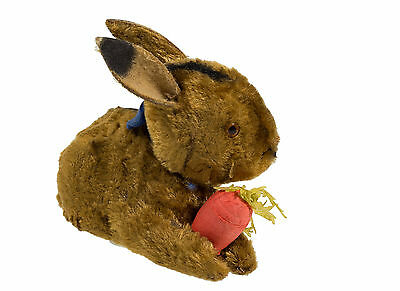 sale  price3 days/ ADORABLE   RABBIT  CANDY  CONTAINER  W.  CARROT free shipping