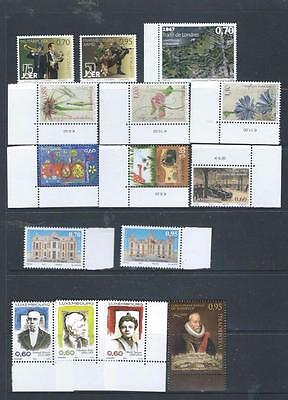 Luxembourg nice recent issues unhinged mint recent, FV over 11 Euros   [6141]