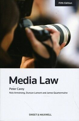 Media Law (Paperback), Carey, Peter, Coles, Peter, Armstrong, Nick, 97804140421.
