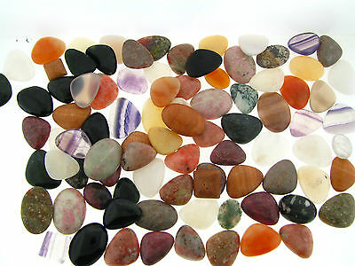 NOS Collection Assortment High End Real Gemstone Bold Cabochon Loose Stones Lot
